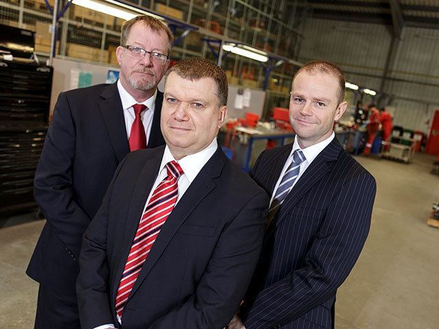 New ATR directors (from left): Derek Sinclair, Duncan Duthie and Dave Grant