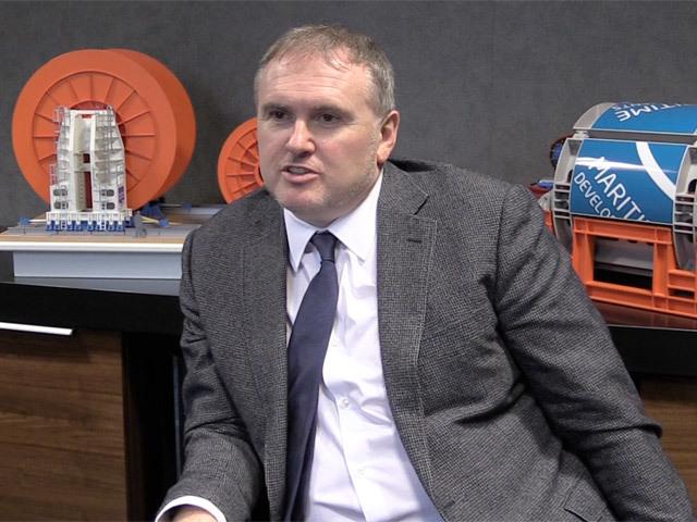 Derek Smith, Maritime Developments' chief executive