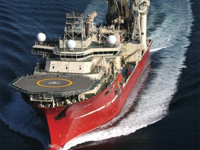 Technip's Deep Energy pipelay vessel