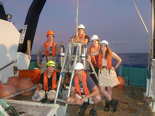 The New Hebrides Trench research team