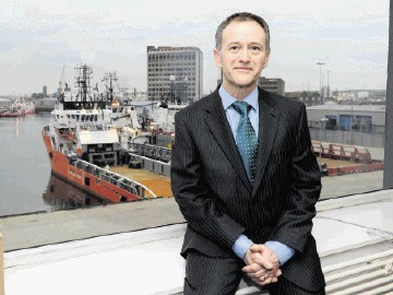 Mike Tholen, Oil & Gas UK economics director