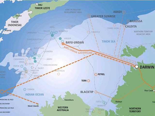 The Ichthys LNG development