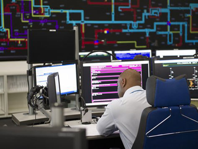 National Grid UK control centre