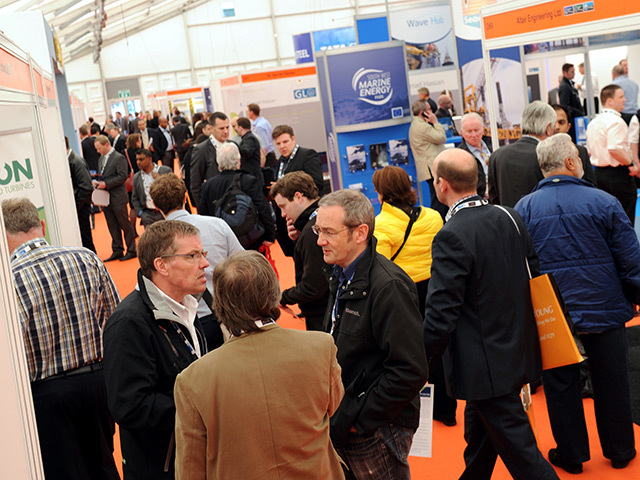 Delegates at All-Energy 2013