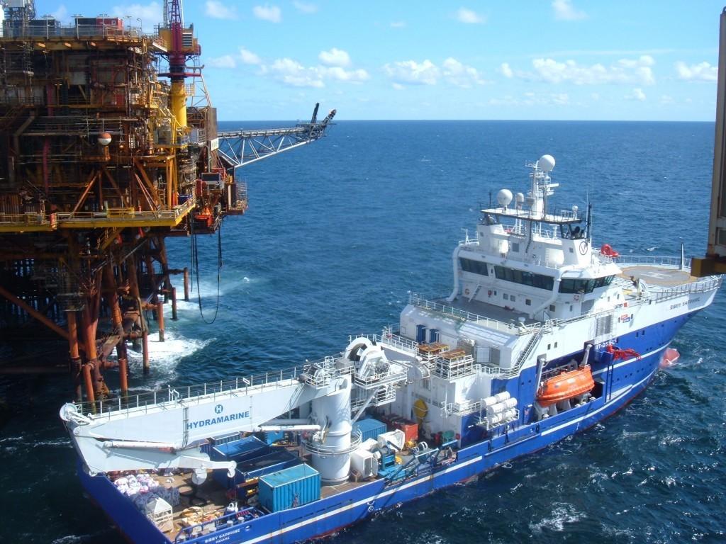 Dive support vessel Bibby Sapphire