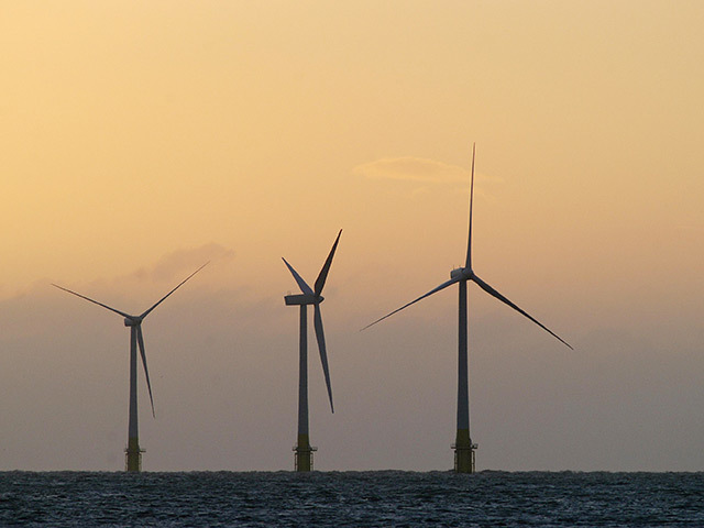 E.on's offshore wind sales are down this year thanks to 'unfavourable' UK wind.