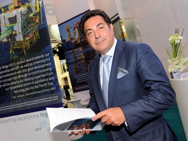 Samir Birkho, Amec chief executive