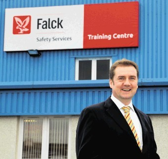 Colin Leyden, MD of Falck Safety Systems