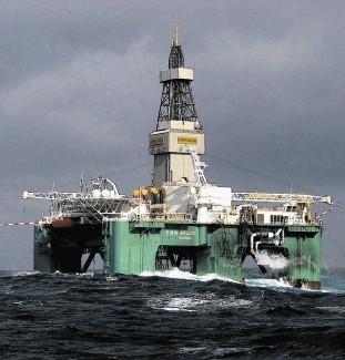 Drilling rig Eirik Raude