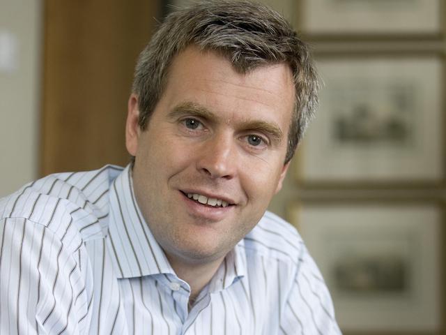 Nick Dalgarno, managing director at Simmons and Company International in Aberdeen.