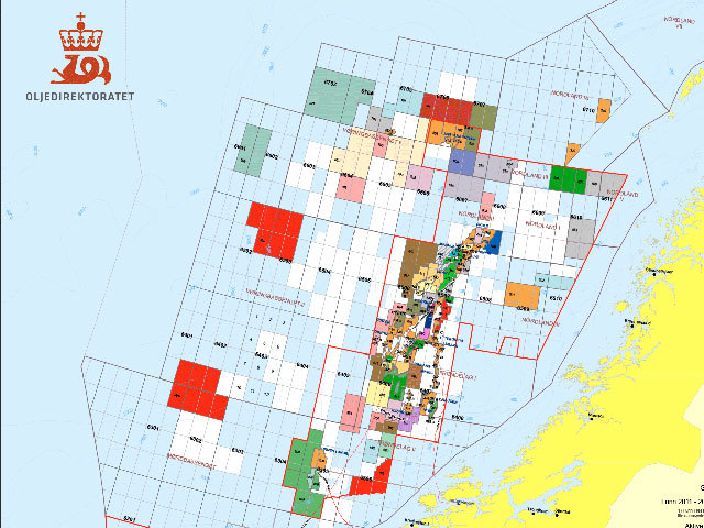 Norwegian Sea basin. Picture by Norwegian Petroleum Directorate