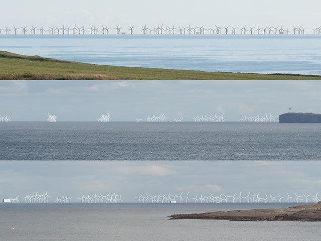 Moray Offshore Wind Farm.