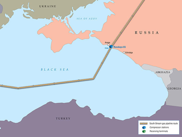The South Stream pipline