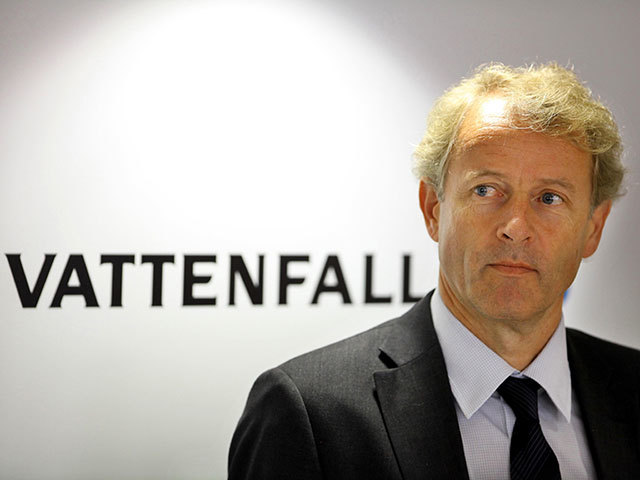 Øystein Løseth, outgoing Vattenfall president and chief executive
