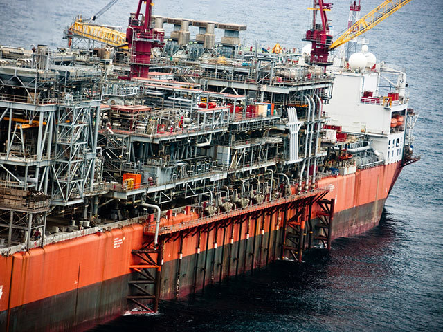 Bonga FPSO. Photo by Shell