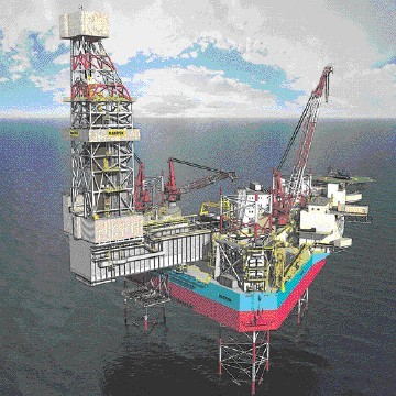 Maersk XLE class super-jack-up