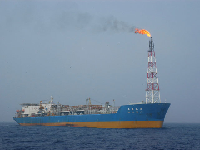 Wenchang field. Photo by CNOOC