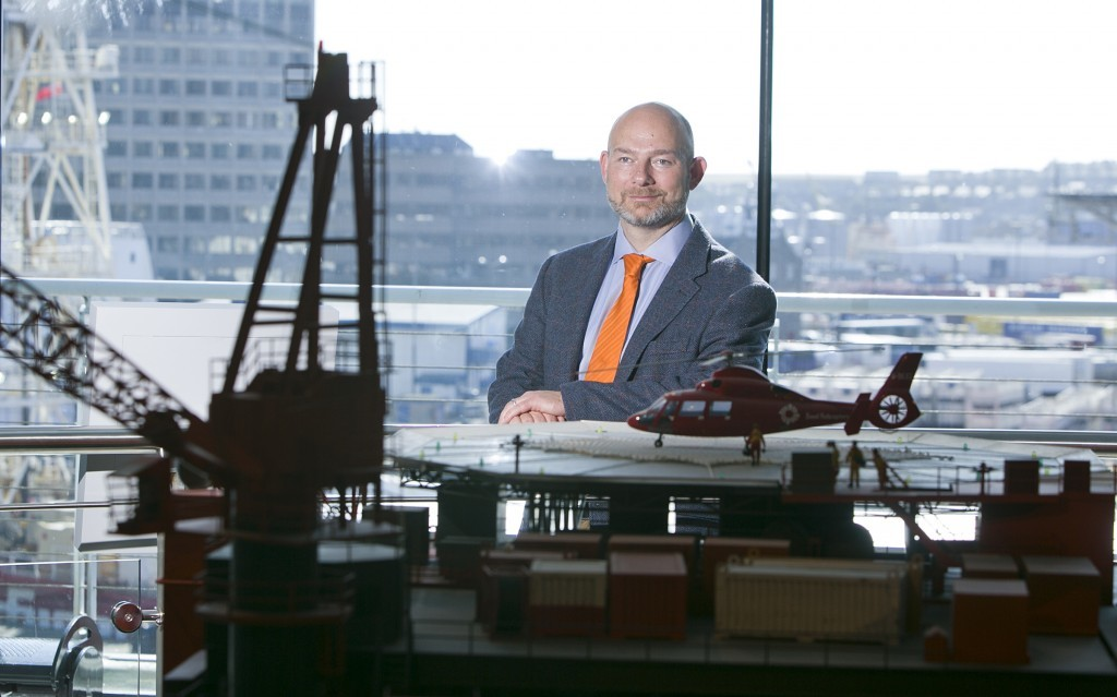 Ross Lowdon, chairman of SPE Aberdeen