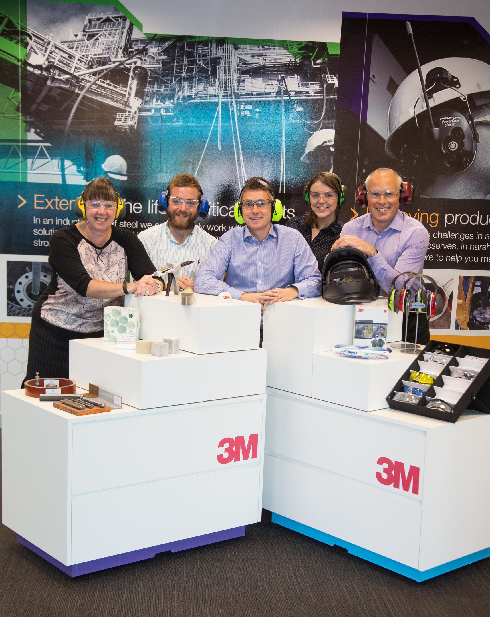 The 3M team at the CEC