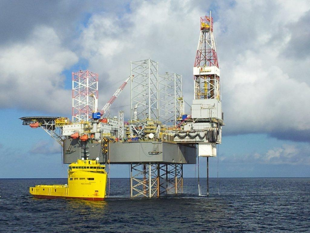 Transocean's Galaxy II drill rig