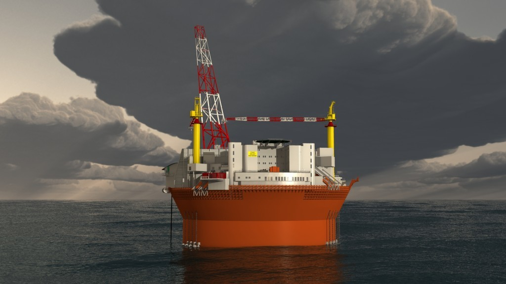 The Goliat FPSO. Pic courtesy of Eni Norge AS.