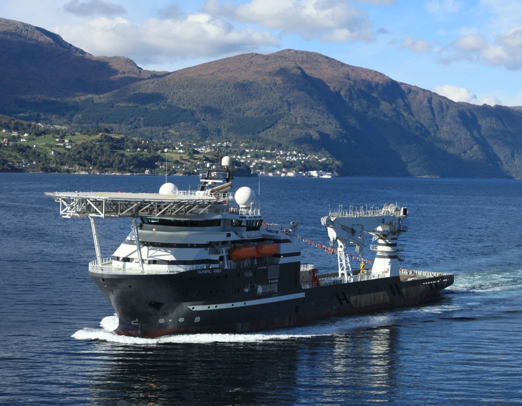 Bibby Offshore's Olympic Ares