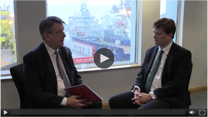 December: Malcolm Webb interviewed Danny Alexander following the Autumn Statement