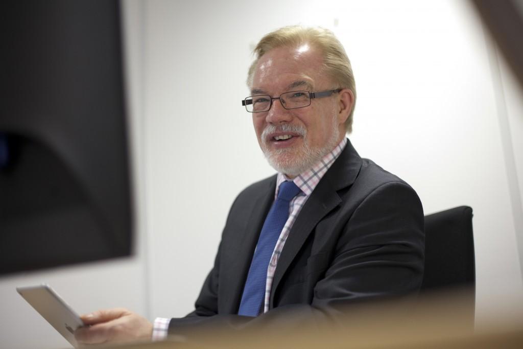 Dr Patrick O'Brien, chief executive of ITF