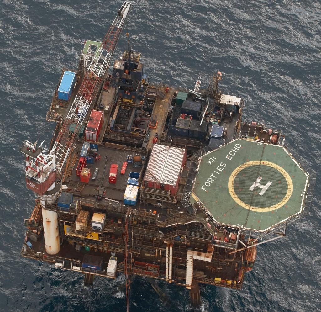 Apache North Sea's Forties Echo platform.