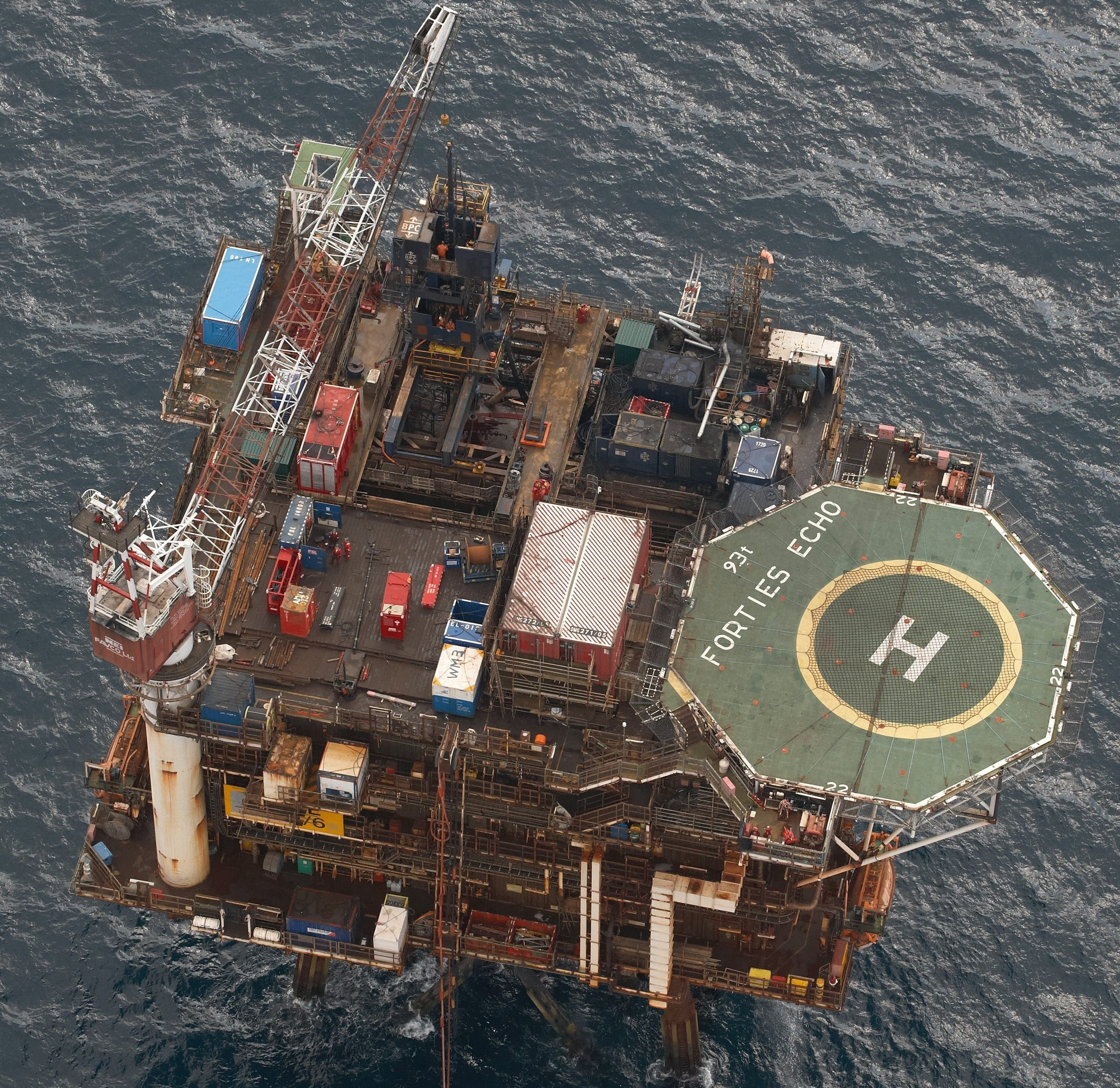Apache North Sea's Forties Echo platform.