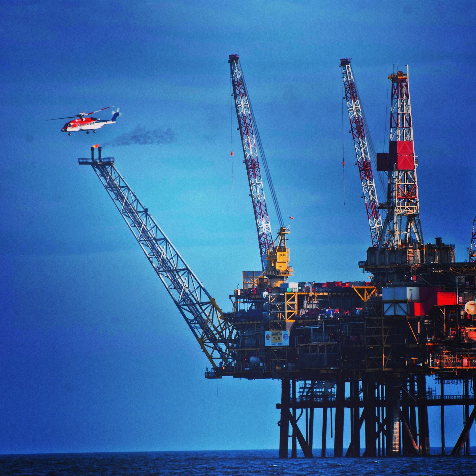 North Sea oil and gas industry