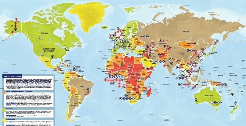 A new map shows risk to workers across the globe