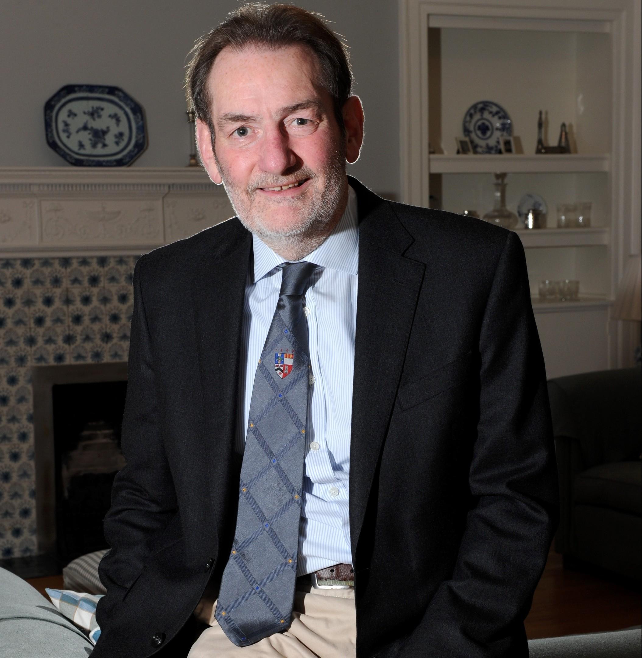University of Aberdeen principal, Professor Sir Ian Diamond