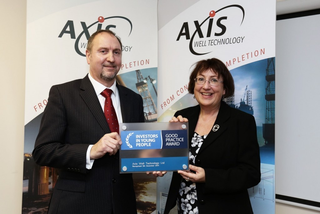 CEO Jim Anderson and Annabelle Ewing MSP