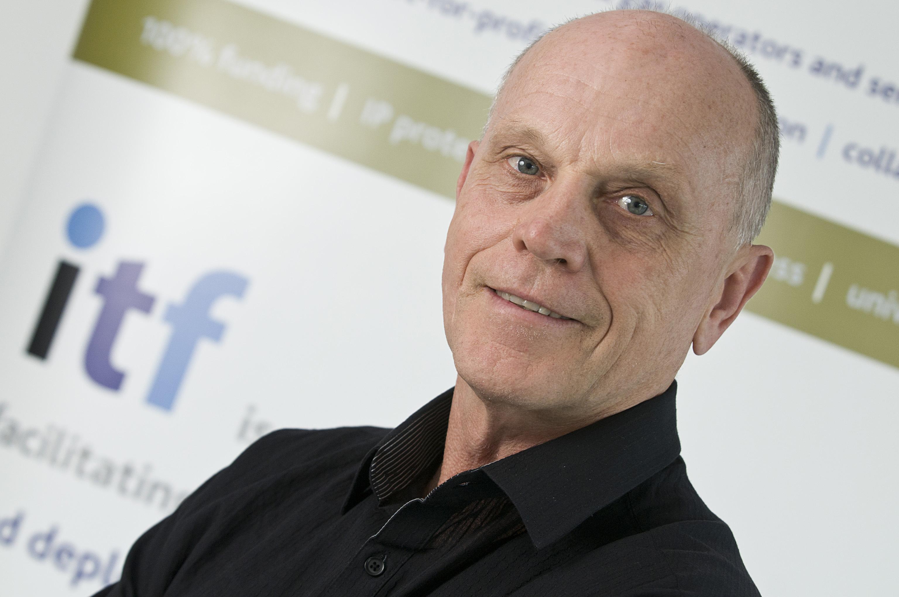 ITF regional manager Peter Brazier