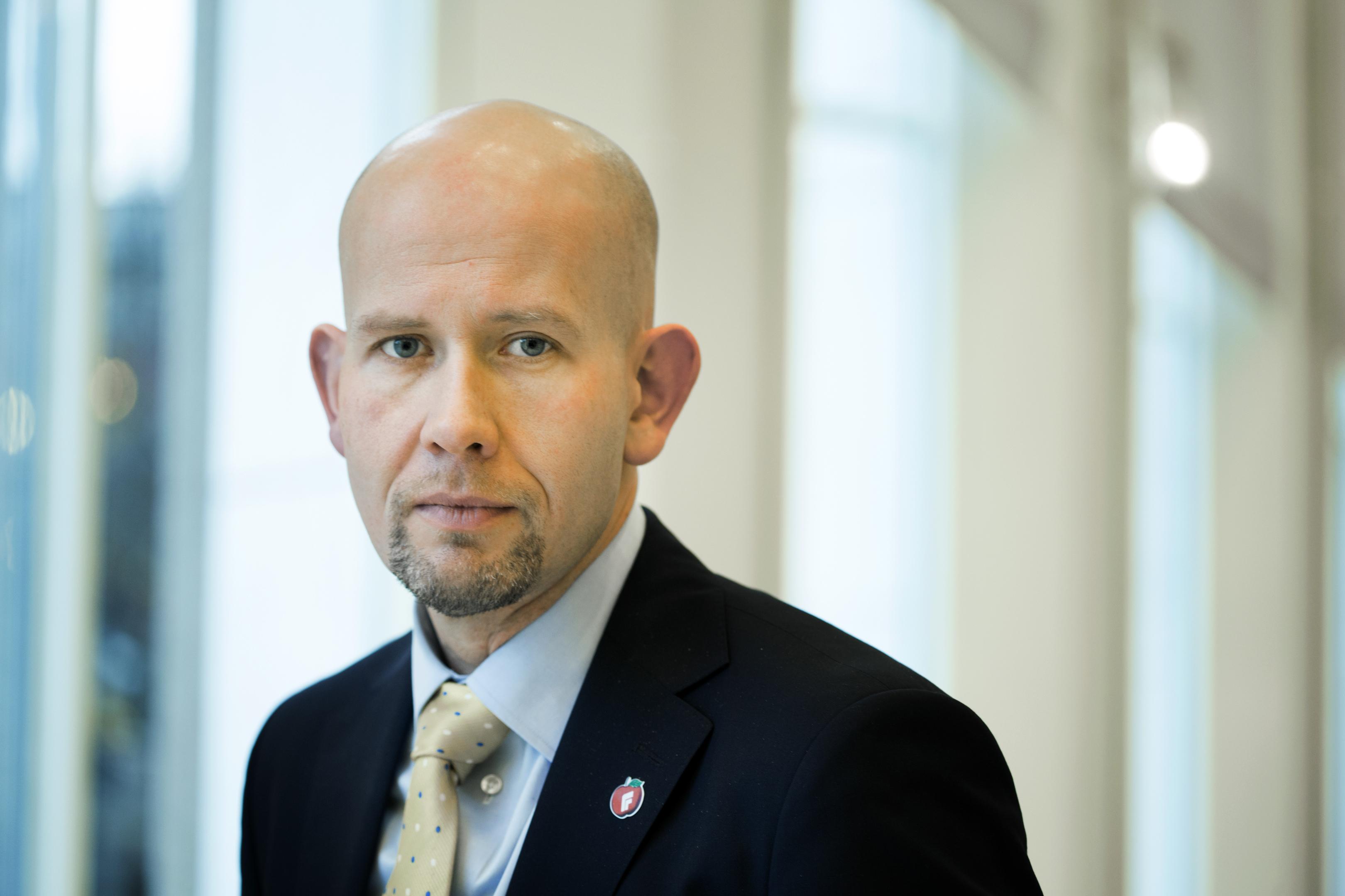 Norwegian energy minister Tord Lien