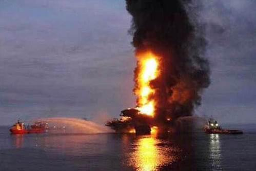 Four people died following the fire on the Pemex platform