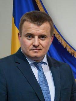 Ukraine's Energy and Coal Minister Vladimir Demchishin