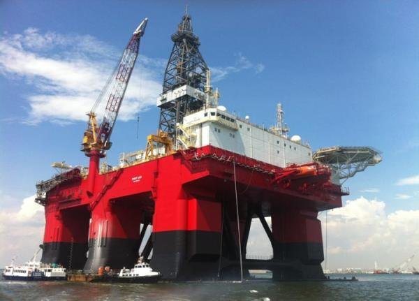 Seadrill's West Leo deepwater rig has arrived in Ghana on a 12 month contract for #Tullow to carry out E&A drilling in 2012.