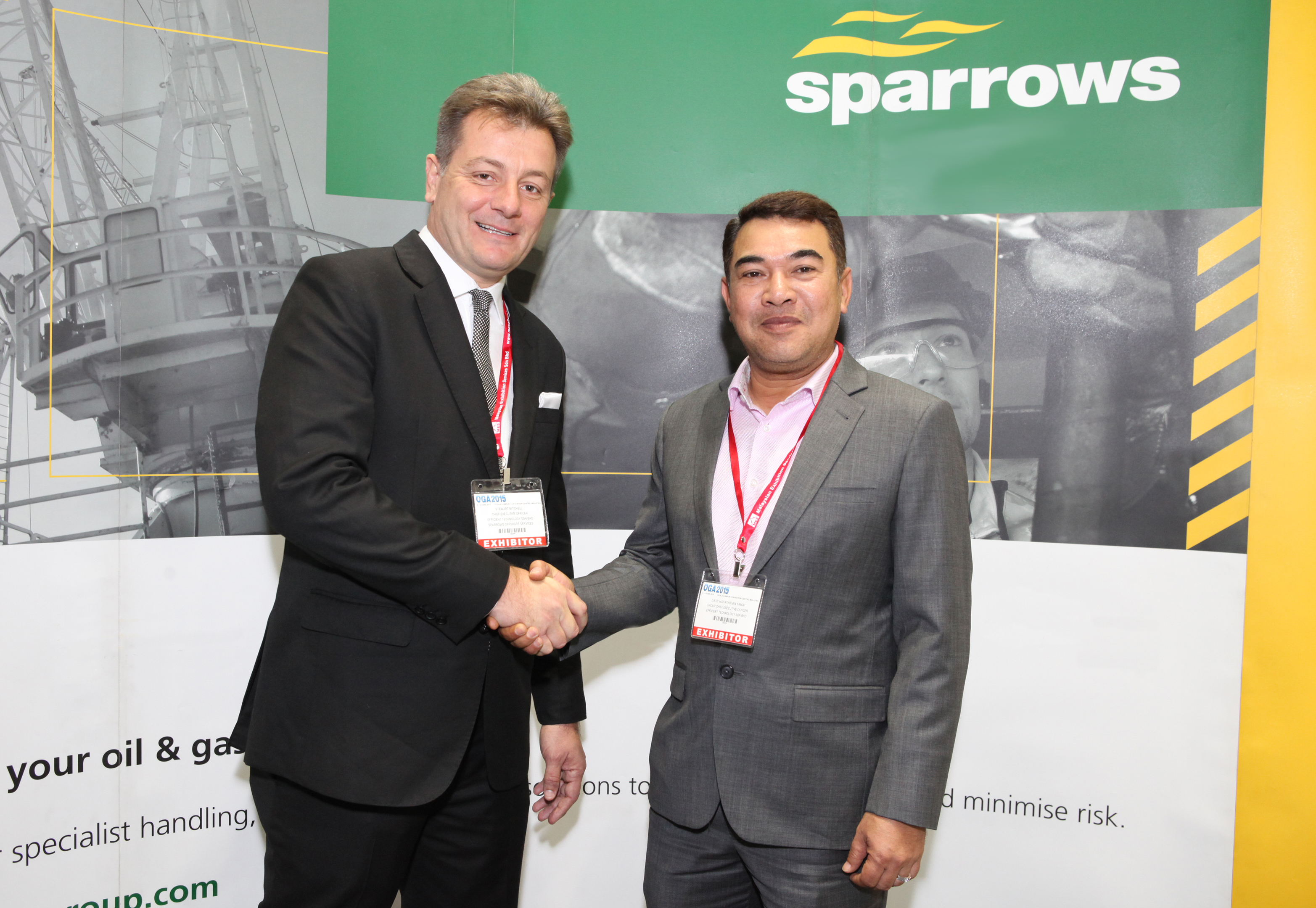 Sparrows Group and Eftech have signed a new deal
