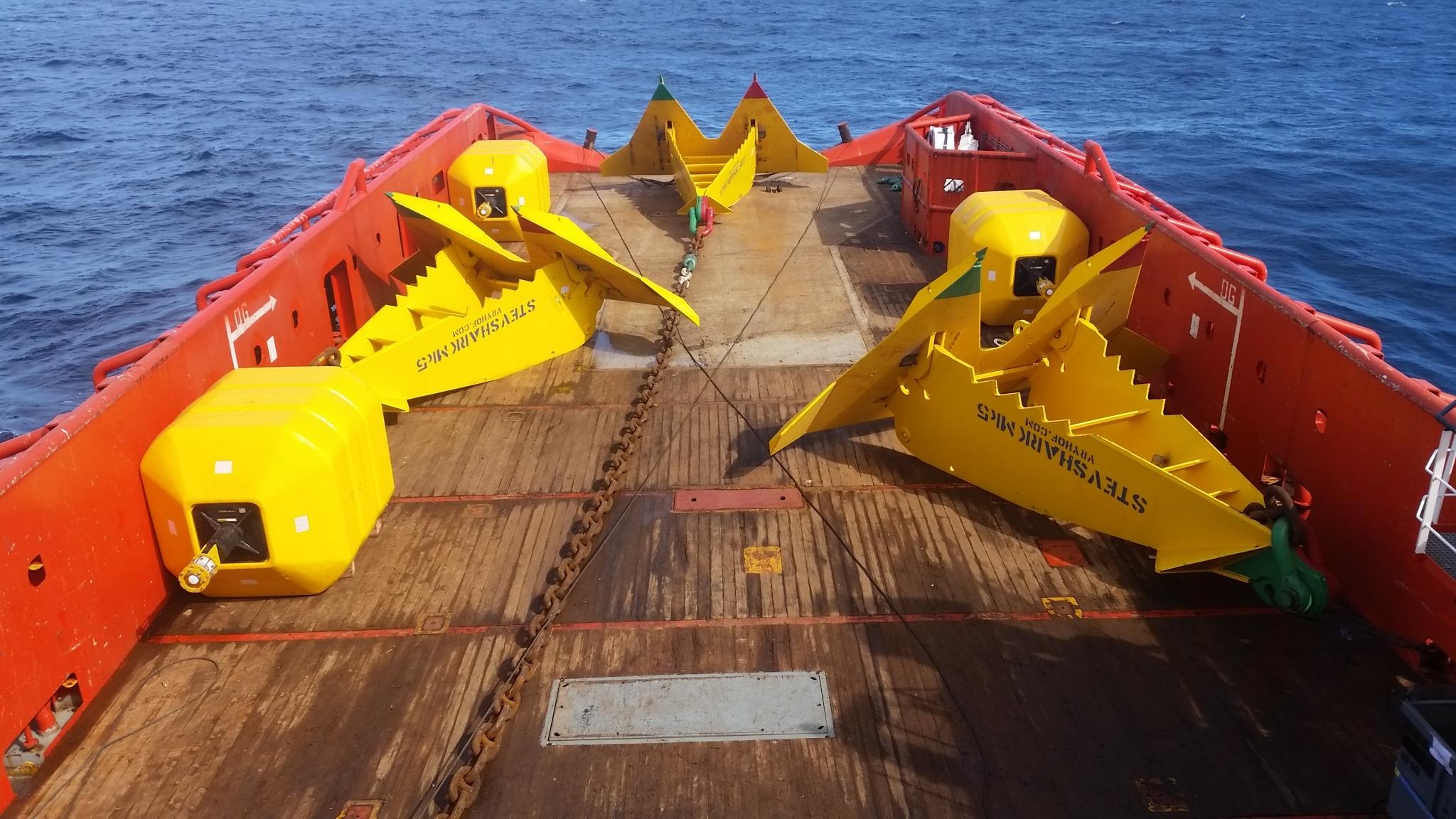 Global Maritime deep sea mooring