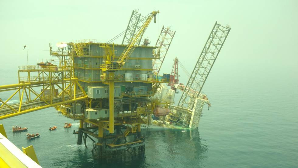 The rig collapse means months of repairs
