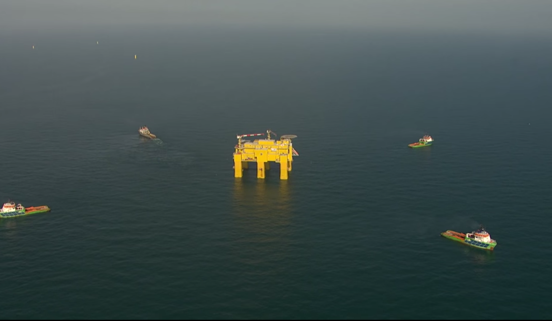 ABB has installed the world's largest offshore converter