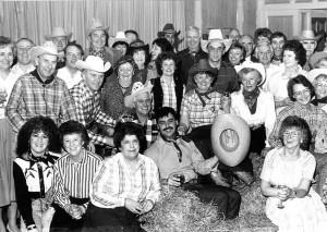 Grampian Houston Association's country'n'western night in 1988