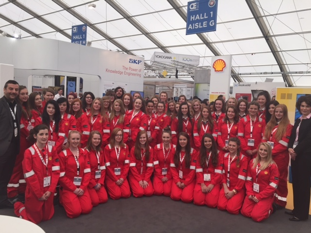 Shell's Girls in Engineering programme