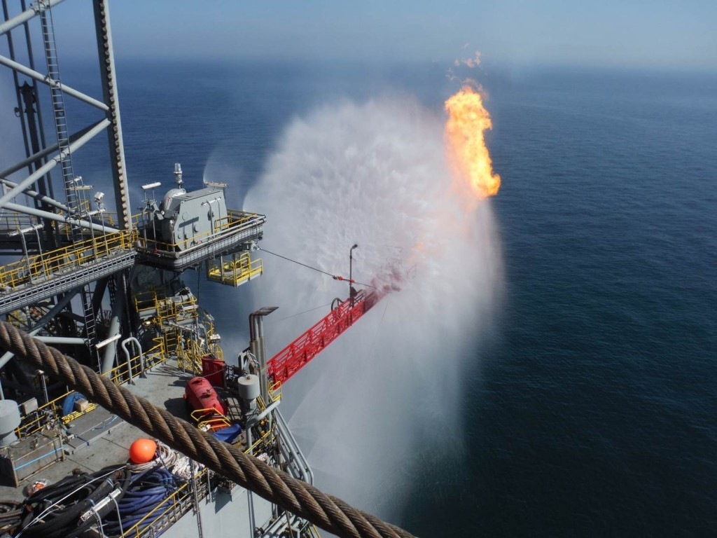Rig Deluge develops fire safety systems for offshore platforms
