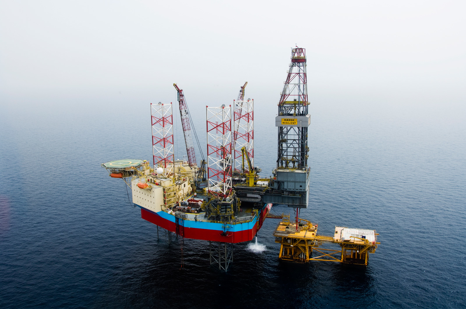 The Maersk Resilient drilled an appraisal at IOG's Harvey discovery in September.