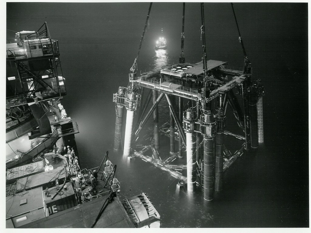 Installing Forties Echo in 1987
