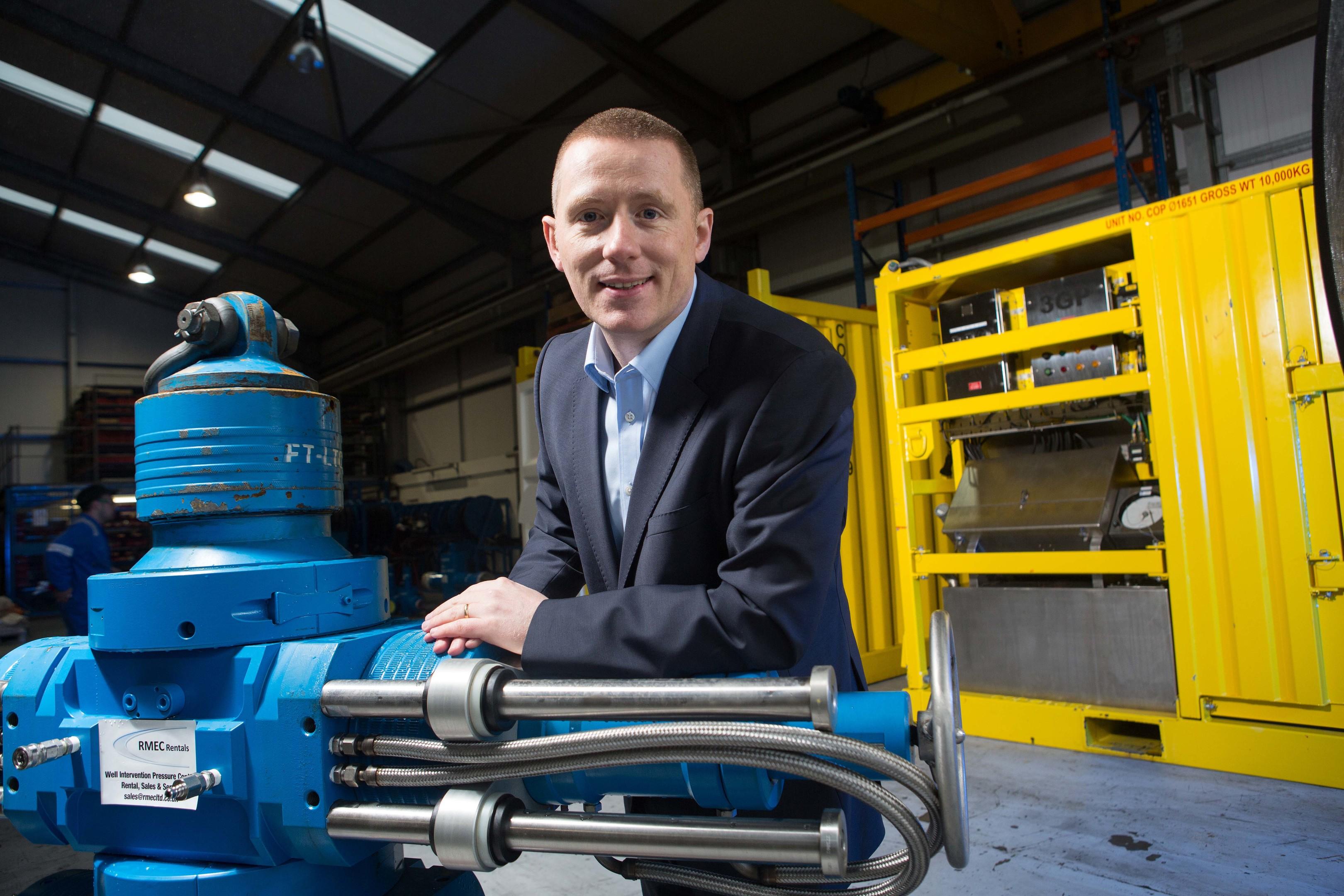 RMEC managing director Bryan Fagan