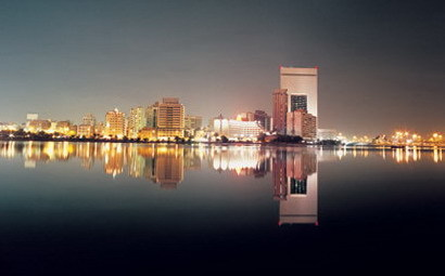 The Saudi Arabian city of Jeddah